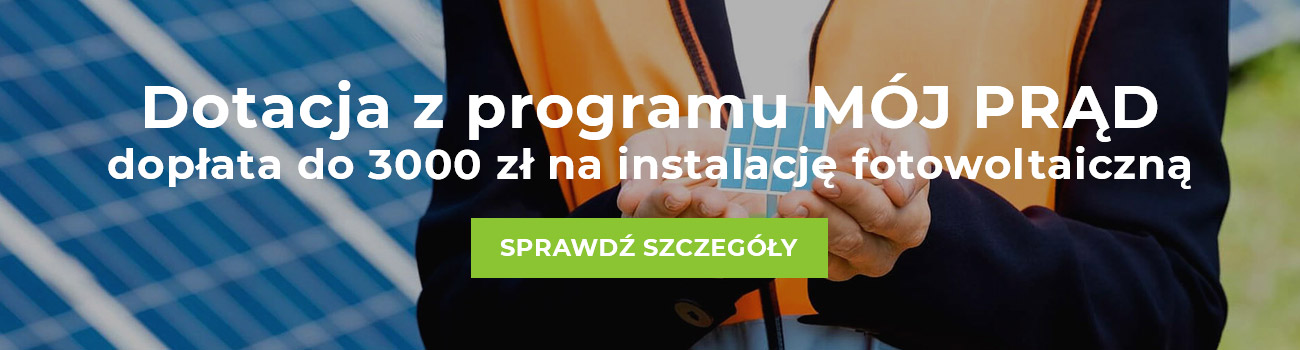 Dotacja 3000 zł na instalację fotowoltaiczną